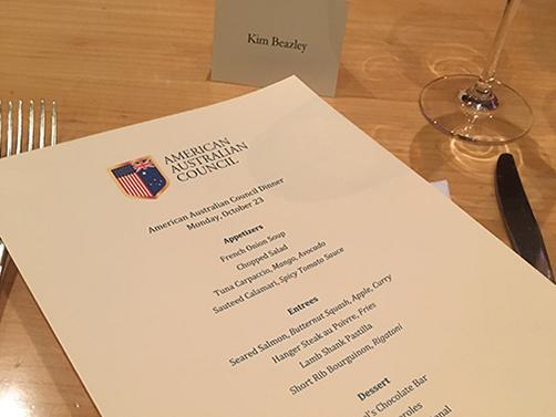 American Australian Council Ambassador Kim Beazley Dinner